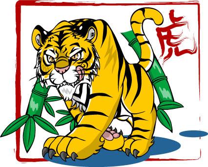 イメージは虎で?